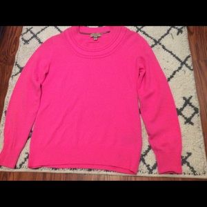 Burberry pink 100% cashmere sweater